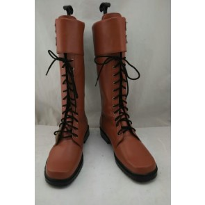 Captain America Brown Cosplay Boots