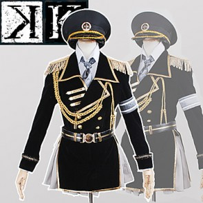 K: Missing Kings Neko Miyabi Ameno Military Uniform Cosplay Costume