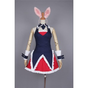 Mondaiji Black Rabbit Cosplay Costume