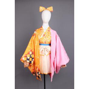Vocaloid Kagamine Rin Kimono Cosplay Costume , $135.00 (was $202.50)
