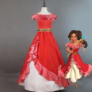 Elena of Avalor Elena Princess Dress Cosplay Costume