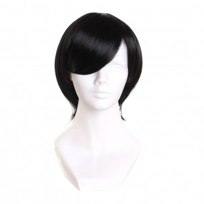 Black 35cm Haven't You Heard? I'm Sakamoto Cosplay Wig