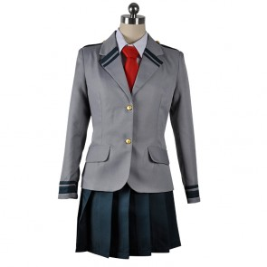 My Hero Academia Ochaco Uraraka/Tsuyu Asui U.A. High School Girl's Uniform Cosplay Costume
