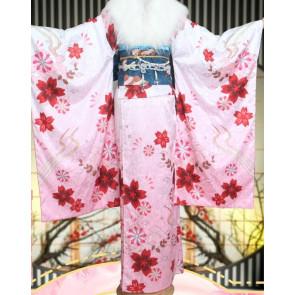 Sword Art Online Asuna Kimono Cosplay Costume