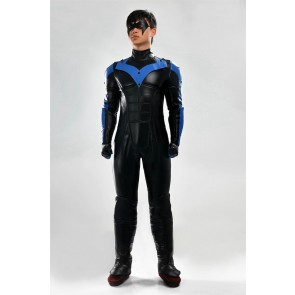 Deluxe Batman: Arkham City Nightwing Cosplay Costume