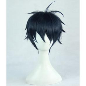 Blue 35cm Monster Musume Kimihito Kurusu Cosplay Wig