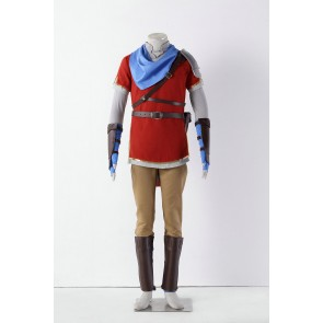 The Legend of Zelda: Hyrule Warriors Link Red Cosplay Costume
