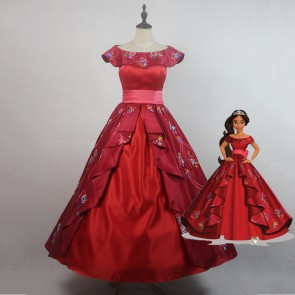 2017 Elena of Avalor Elena Princess Dress Cosplay Costume