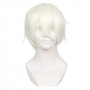 White 32cm Vocaloid Yan He Cosplay Wig