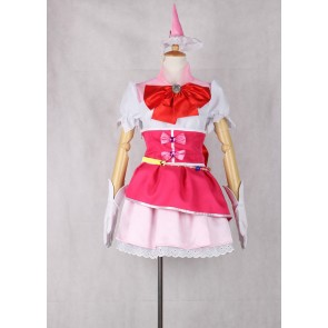 Maho Girls PreCure! Mirai Asahina Cure Miracle Cosplay Costume