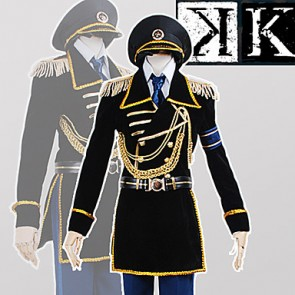 K: Missing Kings Saruhiko Fushimi Military Uniform Cosplay Costume