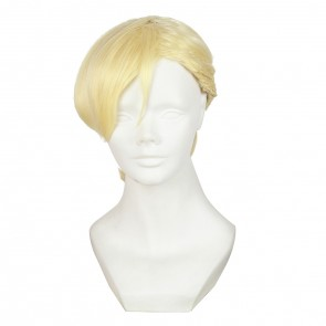 Golden 35cm Haven't You Heard? I'm Sakamoto Shou Hayabusa 8823 Cosplay Wig
