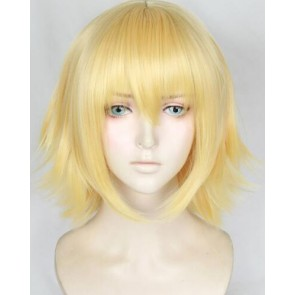 Gold 120cm Fate/Grand Order Jeanne d'Arc (Alter) Cosplay Wig
