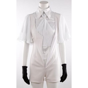 Land of the Lustrous Phosphophyllite White Suit Cosplay Costume