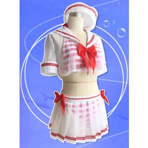 The Idolmaster Cinderella Girls: Starlight Stage Uzuki Shimamura Swimsuit Cosplay Costume