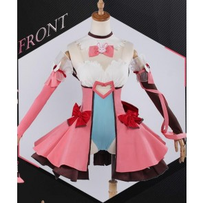 Overwatch D.VA Dress Cosplay Costume
