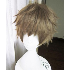 Brown 30cm Tsukiuta. The Animation Kannaduki Iku Cosplay Wig