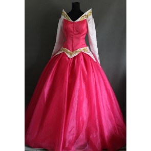 Sleeping Beauty Aurora Princess Dress Cosplay Costume