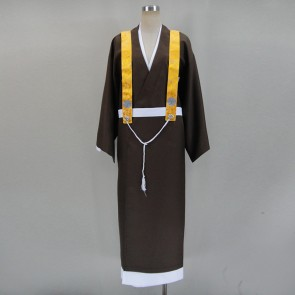 Gugure! Kokkuri-san Shigaraki Black Cosplay Costume