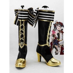 Love Live! Nico Yazawa Cafe Maid Ver. Cosplay Boots