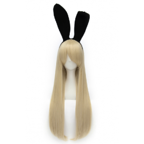 Golden 80cm Kantai Collection Shimakaze Cosplay Wig
