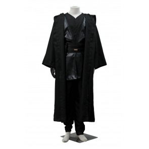 Star Wars Anakin Skywalker Black Cosplay Costume