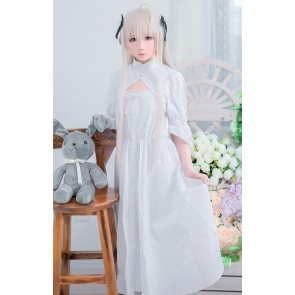Yosuga No Sora - Kasugano Sora White Daily Dress Cosplay Costume