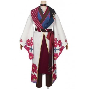 Tsukiuta. The Animation White King Shun Shimotsuki Cosplay Costume