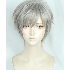 Grey 30cm Cardcaptor Sakura Yukito Tsukishiro Coslay Wig