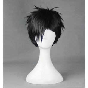 Black 30cm Gangsta. Nicolas Brown Cosplay Wig