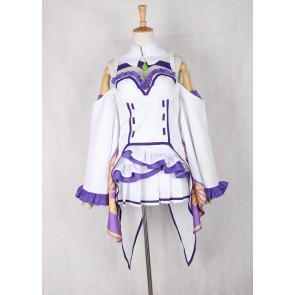 Re:Zero Emilia Cosplay Costume - Version 2