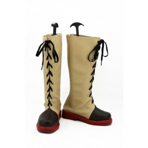Kabaneri of the Iron Fortress Ayame Yomokawa Cosplay Boots