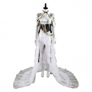 Final Fantasy XV Lunafreya Nox Fleuret Cosplay Costume - Version 2