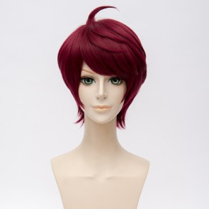 Red 30cm A3! Act! Addict! Actors! Sakuma Sakuya Cosplay Wig