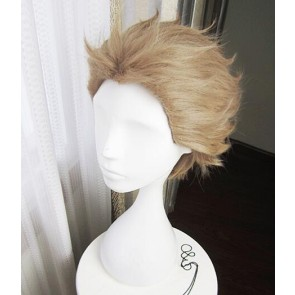 Blonde 30cm Tsukiuta. The Animation Fuduki Kai Cosplay Wig
