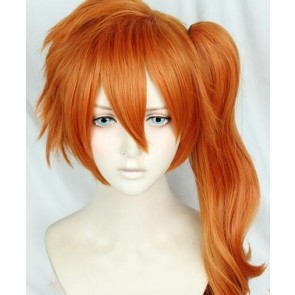 Orange 50cm My Hero Academia Itsuka Kendo Battle Fist Cosplay Wig