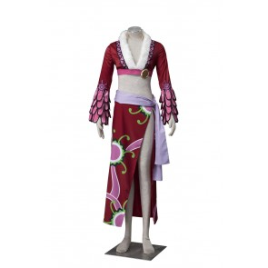 "One Piece ""Pirate Empress"" Boa Hancock Snake Princess Cosplay Costume"