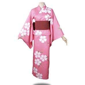 Hotarubi no Mori e Hotaru Takegawa Kimono Cosplay Costume