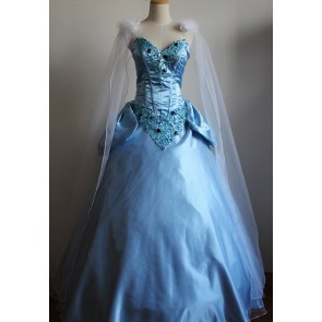 Princess Cinderella Dress Cosplay Costume