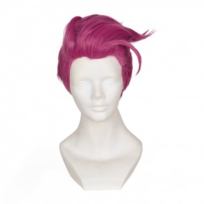 "Rose 30cm Overwatch Aleksandra ""Zarya"" Zaryanova Cosplay Wig"