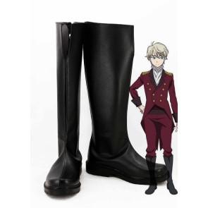 Aldnoah.Zero Slaine Troyard Cosplay Boots