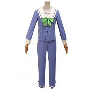 A3! Summer Rurikawa Yuki School Uniform Cosplay Costume