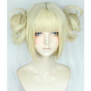 Gold 30cm My Hero Academia Himiko Toga Cosplay Wig