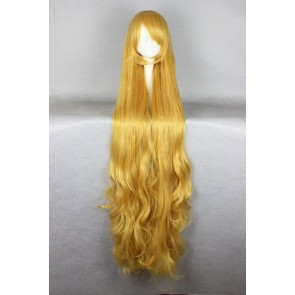Yellow 140cm Gosick Victorique De Blois Cosplay Wig