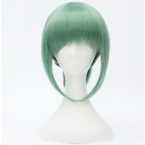 Green 30cm Kantai Collection Yubari Cosplay Wig