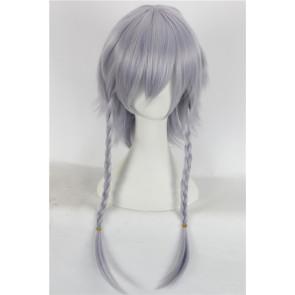 Grey 50cm Touhou Project Sakuya Izayoi Cosplay Wig
