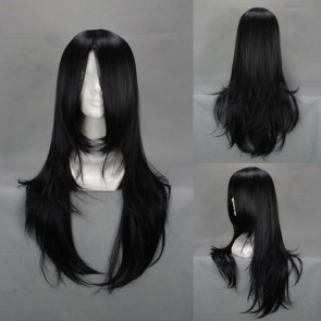 Black 65cm Alice: Madness Returns Alice Cosplay wig