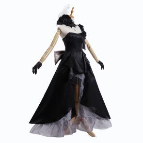 Fate/Grand Order Marie Antoinette Black Dress Cosplay Costume