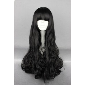 Black 70cm RWBY Blake Belladonna Cosplay Wig