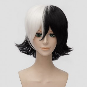 Black and White 30cm Young Black Jack Kuroo Hazama Cosplay Wig